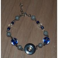 Blauw/Zilver - 5435