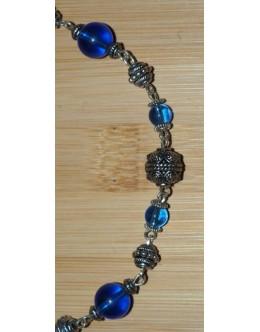 Blauw/Zilver - 3636